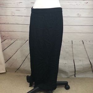 Madewell maxi skirt with side slits Sz 12 large